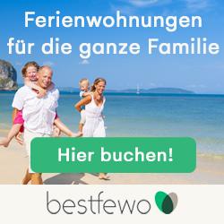 Ferienwohnungen und Ferienhäser bei BestFewo